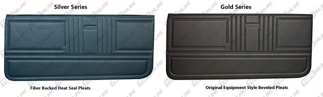 Door Panels:1967 Chevy Camaro Convertible Only